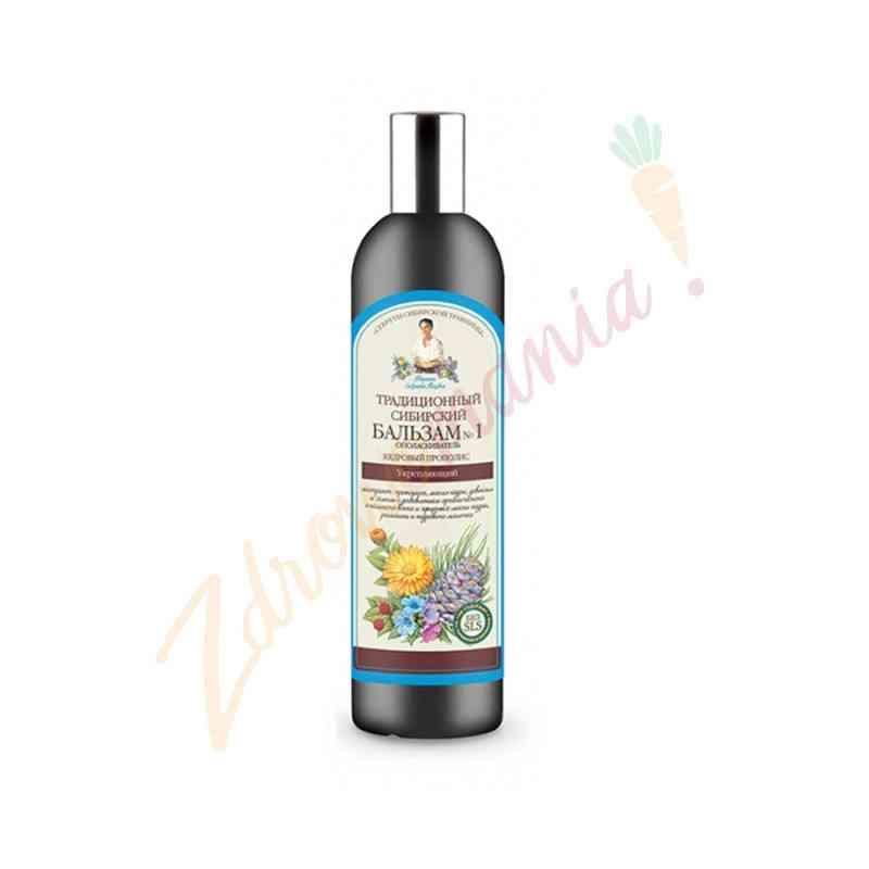 Syberyjski balsam do włosów na propolisie cedrowym 550 ml, Recepty Babci Agafii