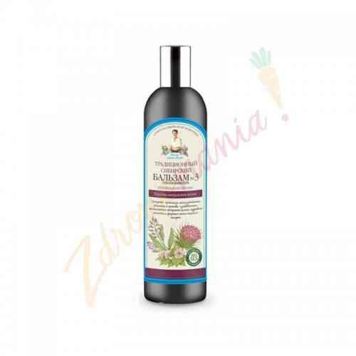 Syberyjski balsam do włosów na propolisie łopianowym 550 ml, Recepty Babci Agafii