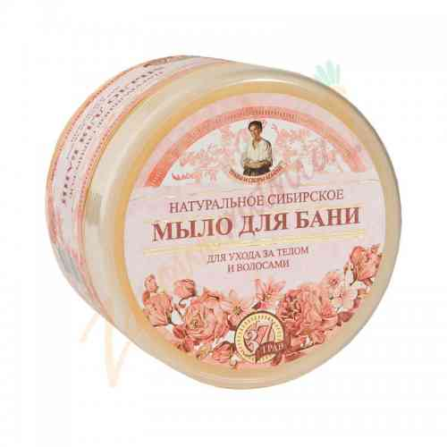 Naturalne ziołowe syberyjskie mydło Agafii kwiatowe 500 ml
