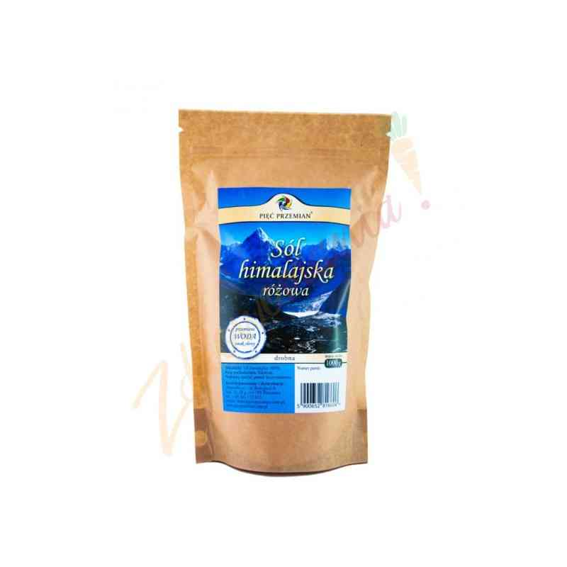Sól himalajska różowa drobna 1000 gram