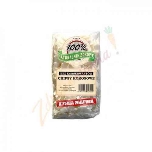 Chipsy kokosowe bez konserwantów 200g Naturalnie Zdrowe