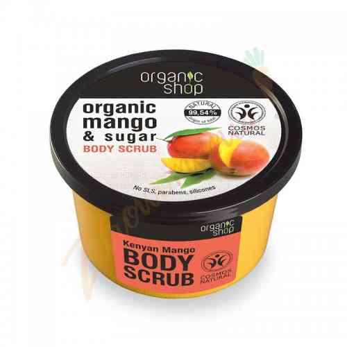 Scrub do ciała - Kenijskie mango 250 ml Organic Shop