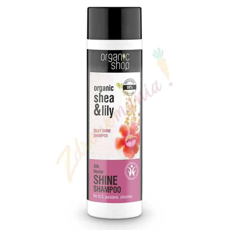 Szampon - Jedwabny nektar 280 ml Organic Shop