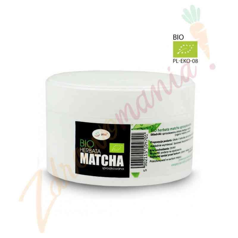 Ekologiczna zielona herbata w proszku MATCHA BIO 100 g Vivio