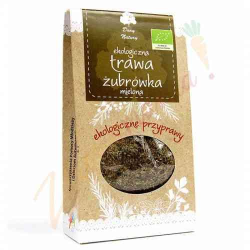 Trawa żubrówka mielona ekologiczna 20 g Dary Natury