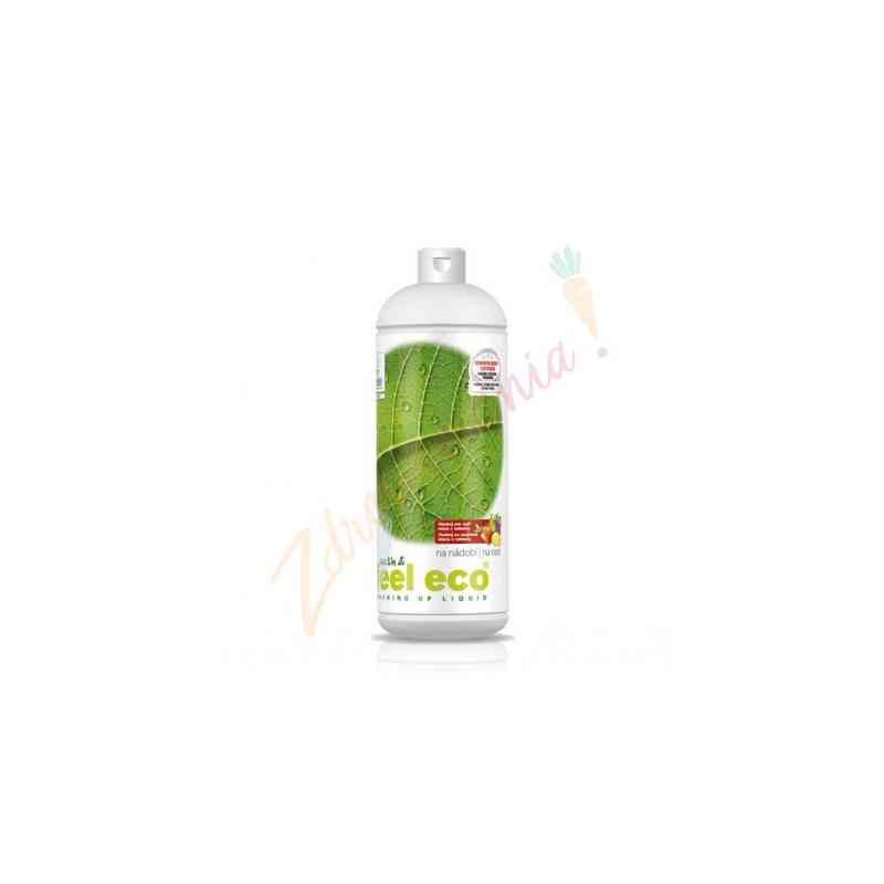 Ekologiczny wydajny płyn do mycia naczyń, owoców i warzyw 1 l, Feel Eco