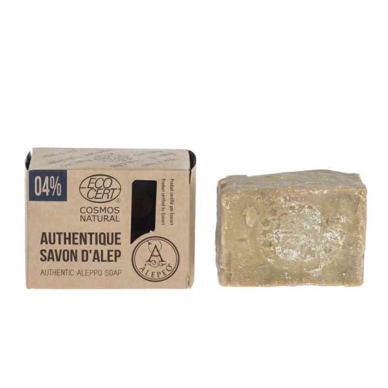 Tradycyjne mydło Aleppo 4% oleju laurowego 200 g Alepeo
