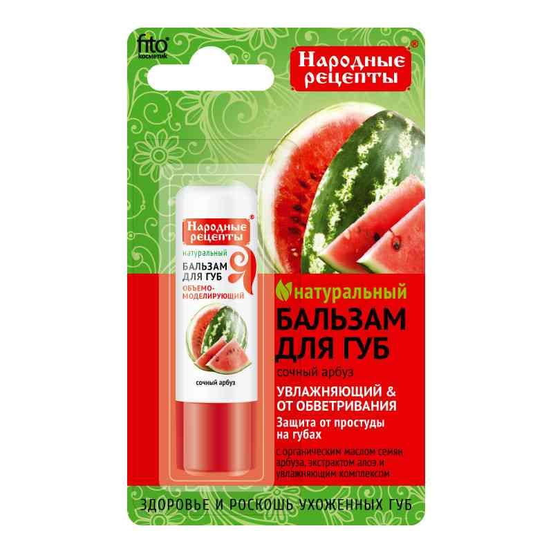 Organiczny balsam do ust 4,5g SOCZYSTY ARBUZ Fitokosmetik Przepisy Ludowe