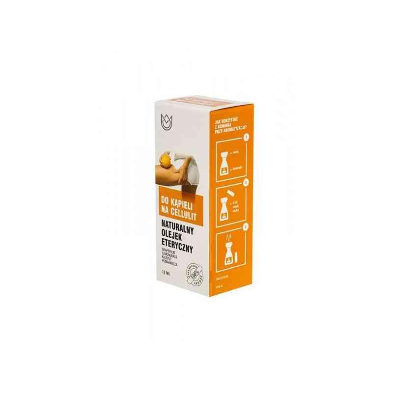 Naturalny olejek eteryczny DO KĄPIELI NA CELLULIT 12ml Naturalne Aromaty